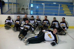 Sledge Hockey Practices