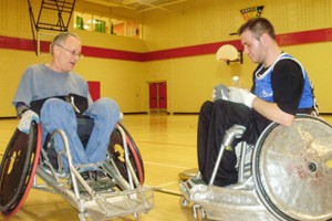 Wheelchair Rugby Demo