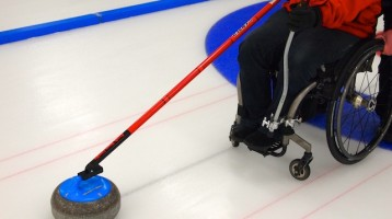 ParaSport and Recreation PEI Hosts Wheelchair & Visually Impaired Curling Have-A-Go Demonstration