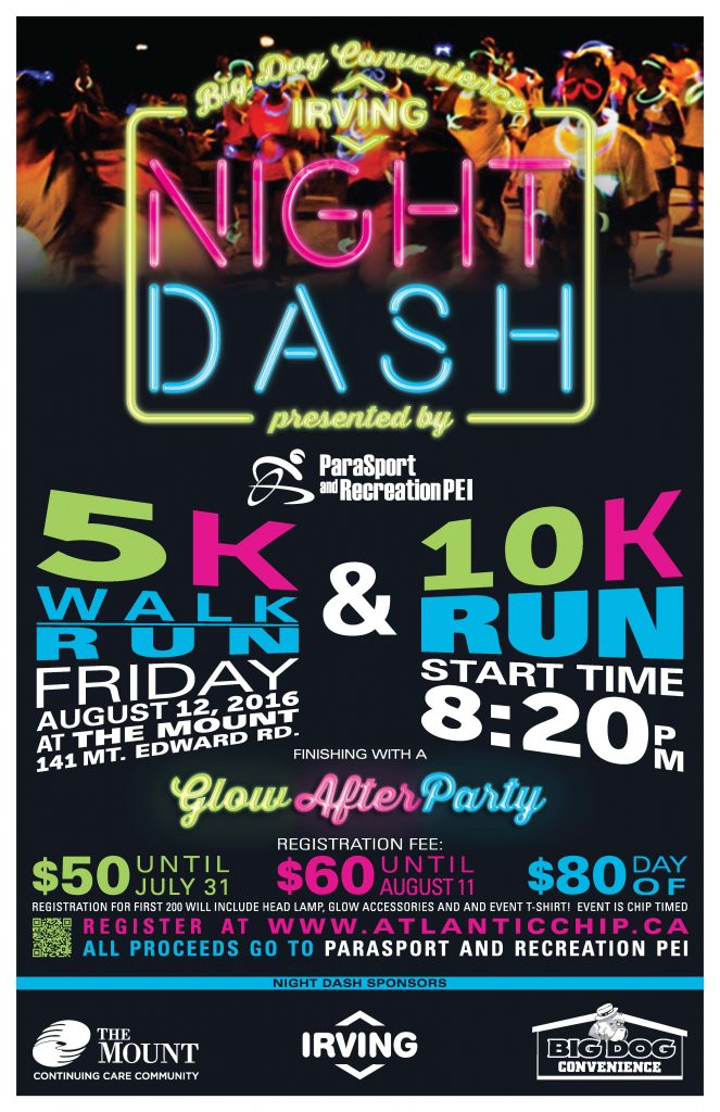 2016 Big Dog Convenience/Irving Night Dash @ The Mount | Charlottetown | Prince Edward Island | Canada