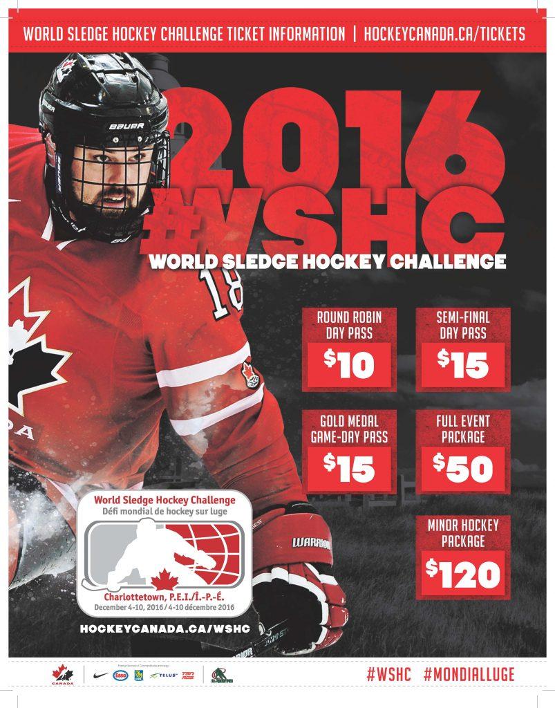 2016 World Sledge Hockey Challenge @ MacLauchlan Arena, UPEI | Charlottetown | Prince Edward Island | Canada