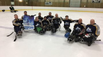 PEI Ice Breakers Sledge Hockey Tearm 2016-2017