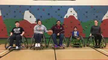 ParaSport and Recreation Offers Brand  New Wheelchair Basketball Junior Program