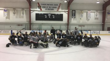 Ice Breakers Bring Home Gold from the South Florida Sledge Hockey Invitational
