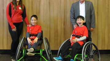 Goodlife Kids Foundation Supports Wheelchair Basketball