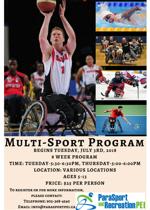 Multi-Sport Program- Wheelchair Tennis