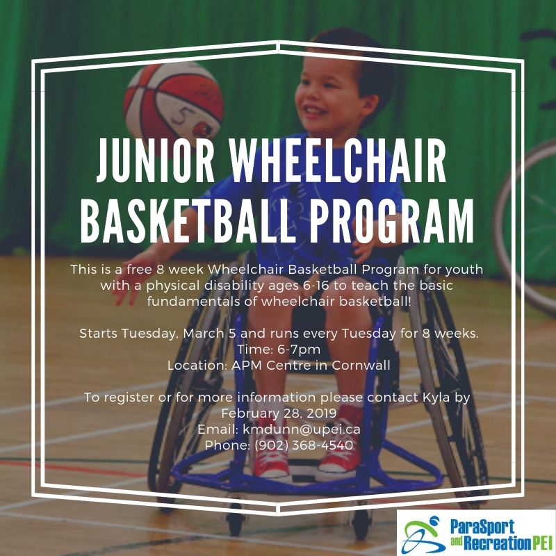 Junior Wheelchair Basketball Program