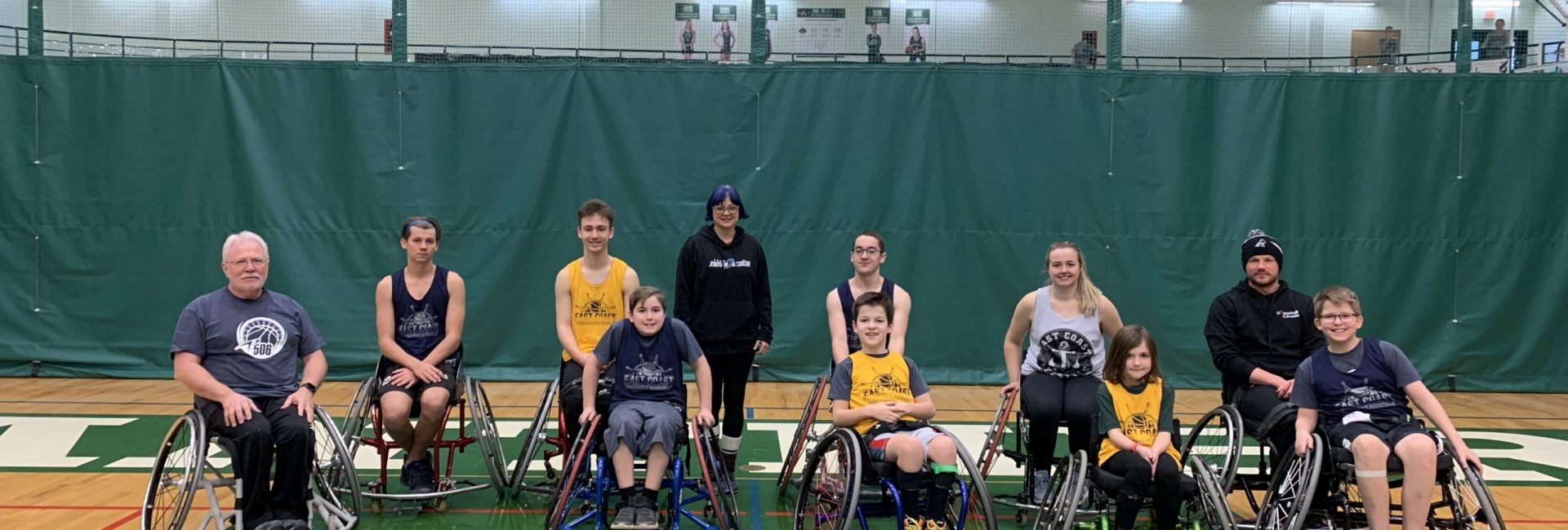 East Coast Wheelchair Basketball Camp, UPEI