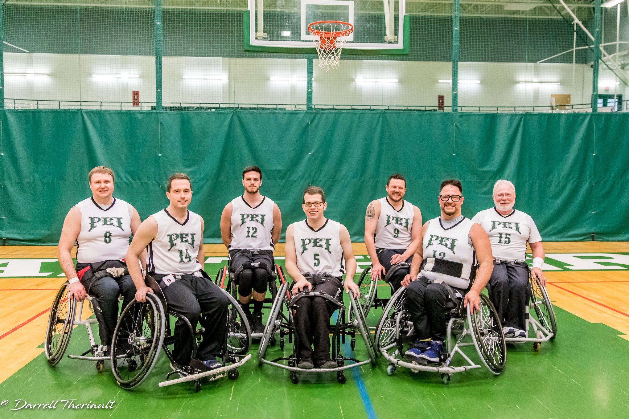 2019 PEI Mustangs Team- 2019 Canadian Wheelchair Baskebtall League Nationals Championships
