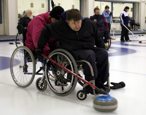 Laughie Rutt, Team NS Wheelchair Curling
