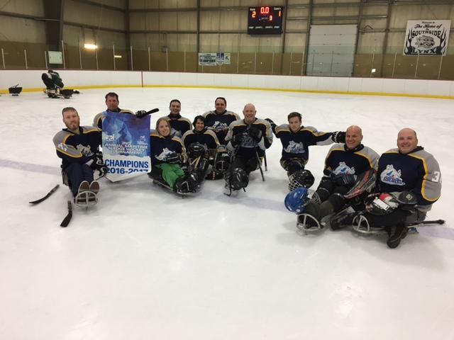 PEI Ice Breakers Sledge Hockey Tearm 2016-2017
