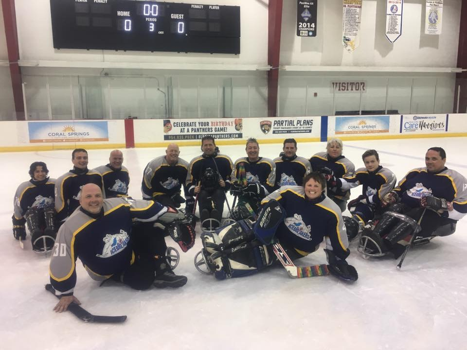 PEI Ice Breakers Sledge Hockey Program