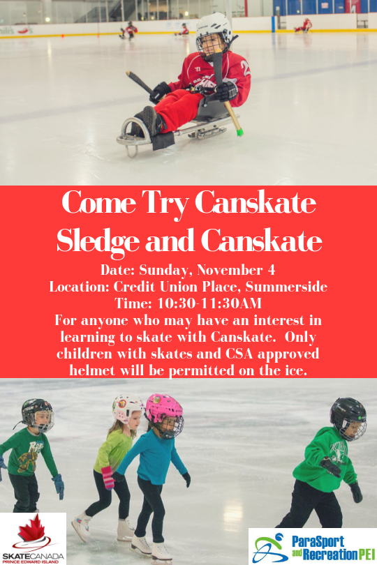 Come Try Canskate Sledge and Canskate