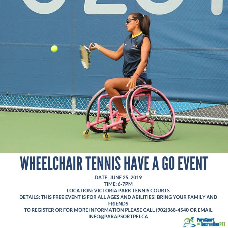 Wheelchair Tennis Have-A-Go Event