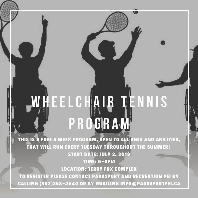 Wheelchair Tennis Program