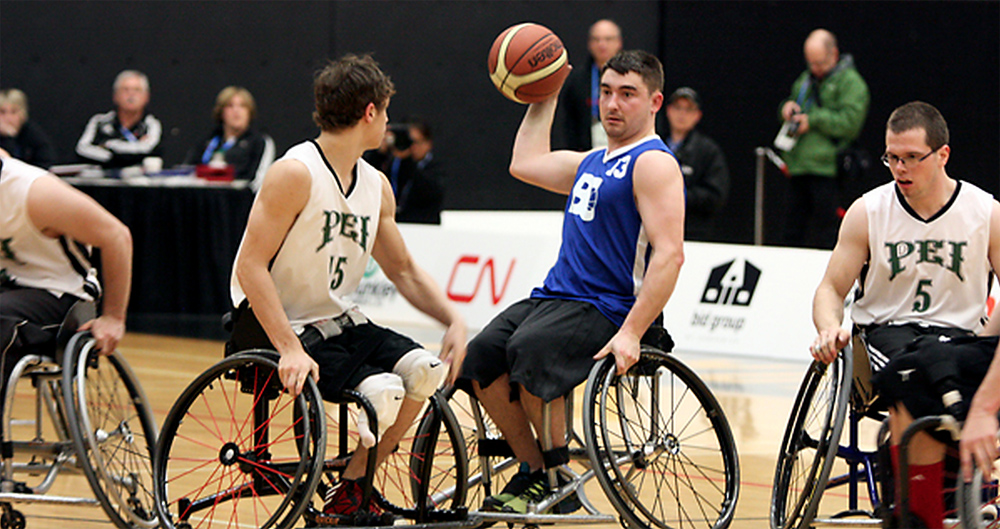 PEI Mustangs Wheelchair Basketball Program
