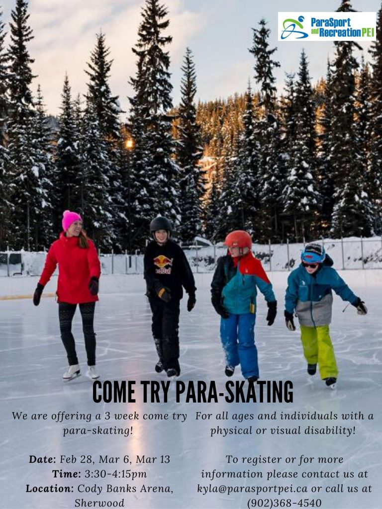 Come Try Para-Skating